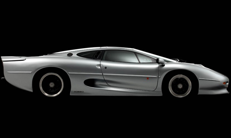 Bridgestone to develop new tyres for the xj220 32083