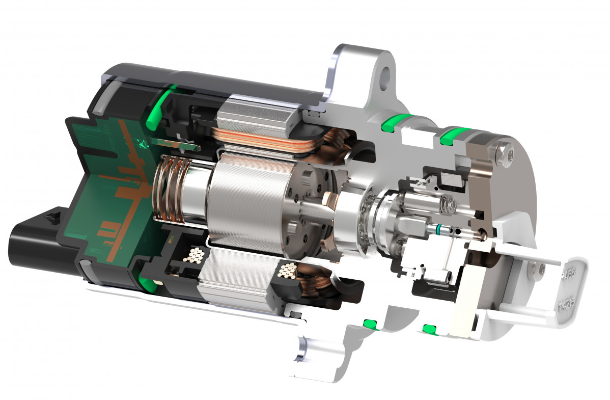 Picture 5 Cross section GenVI hydraulic actuator